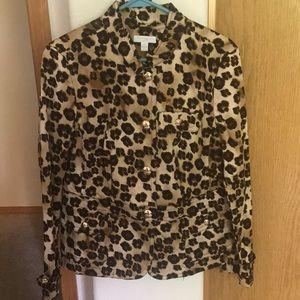 Beautiful Leopard Jacket/Blazer